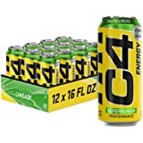 C4 Energy Carbonated Zero Sugar Energy Drink, Pre Workout Drink + Beta Alanine, Sparkling Twisted Limeade, 16 Fluid Ounce Can