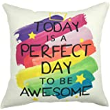 (YS050609) - YOUR SMILE Cage Cotton Linen Square Decorative Throw Pillow Case Cushion Cover 18x18 Inch(44CM44CM) (YS050609)