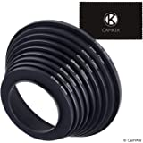Step Up Lens Filter Adapter Rings - Set of 9 - Allows You to Fit Larger Size Lens Filters on a Lens with a Smaller Diameter -