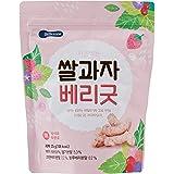 BeBecook Wise Moms Rice Snacks (Berries), 25g
