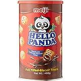 Meiji Hello Panda Chocolate Biscuit, Chocolate, 400 g