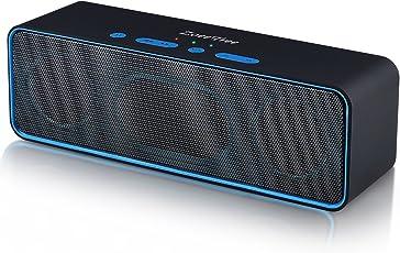 Bluetooth スピーカー、ZoeeTree S4 ポータブル ワイヤレス ブルートゥース スピーカー、高音質 大音量 / 2*3Wデュアル ドライバー / 8時間連続再生 / 内蔵ノイズリダクションマイク / AUX、Micro SDカード再生