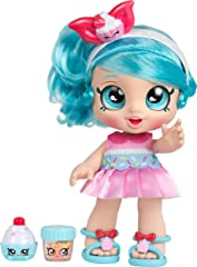 Kindi Kids MO50008 Snack Time Friends Toddler Doll, Jessicake