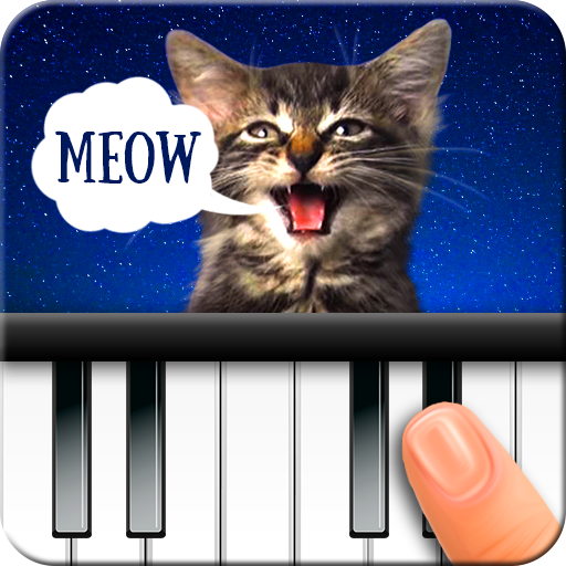 Cat Piano. Sounds-Music
