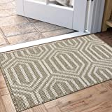 "Indoor Doormat, Non Slip Absorbent Resist Dirt Entrance Rug, 32""x48"" Large Size Machine Washable Low-Profile Inside Floor Doo"