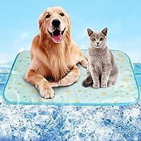 ひんやり ペット用シーツ ペット 猫 犬 ひんやりマット 冷感 マット シーツ ペット用ひんやりマット メッシュ 夏用…