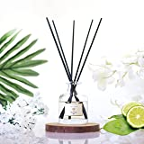 PRISTINE Himalayan Reed Diffuser Set   Reed Oil Diffuser Sticks, 1.6oz  Aromatherapy as a means fo stress relief   Aromatic O