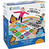 Learning Resources LER2835 Let's Go Code! Activity Set,Multi