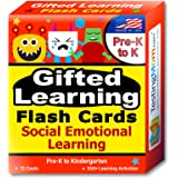 TestingMom.com Gifted Learning Flash Cards - Social Emotional Learning (SEL) for Pre-K and Kindergarten