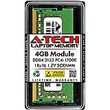 A-Tech 8GB Module 2133Mhz PC4-17000 260-Pin So-Dimm DDR4 1.2v Non ECC 2rx8 Laptop & Notebook Computer Memory Ram Stick (AT8G1