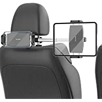【2021改良版 ダブルグランプ&長さ調整】TRYONE タブレット ホルダー タブレット&スマホ同時に使用 99%の車…