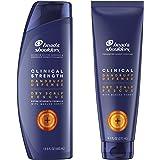 Head & Shoulders Clinical Strength Dandruff Shampoo and Conditioner, Dry Scalp Rescue with Manuka Honey, 13.5 Oz, 9.1 Oz - Ne