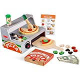 Melissa and Doug MD9465 Top & Bake Pizza Counter Play Set (34 Pieces),1 EA