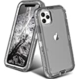 ORIbox Protective Case for iPhone 11 pro, Heavy Duty Shockproof Anti-Fall case, More Suitable for People with Big Hands, Crys