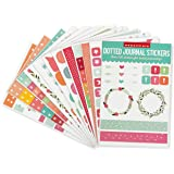 Essentials Planner Stickers for Dotted Journals (Set of 550+ stickers. Great for bullet journaling, weekly planners, and note