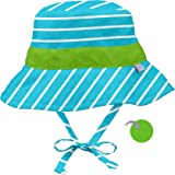 i play. Bucket Sun Protection Hat | All-Day Sun Protection for Baby's Head, Neck, & Eyes | Adjustable Size, UPF 50+ Protectio