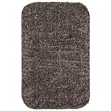Large Mud Rug, Absorbent Dirt Trapping Machine Washable, Non Slip Indoor Mat, 29 W x 39 L - Taupe