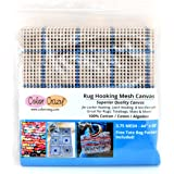 """Rug Hooking Mesh Canvas - 3.75 Mesh (44"""" x 60"""") with Free Pattern"""