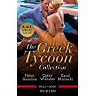 Greek Tycoon Collection/The Greek Tycoon's Virgin Wife/At the Greek Tycoon's Bidding/Blackmailed into the Greek Tycoon's Bed