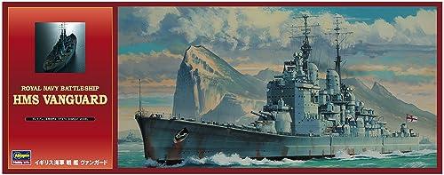 ハセガワ 1/450 イギリス海軍 イギリス海軍 戦艦 ヴァンガード プラモデル Z15