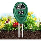 Soil Tester,Home-Mart 3 in 1 Soil PH Meter Soil Moisture Sensor Soil Test Kit for Moisture, Light & pH Meter forGarden, Lawn,