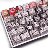 アニメ キーキャップ 108 PBT染め 昇華 OEM プロファイル 日本アニメ キーキャップ Cherry Mx Gateron Kailh Switch メカニカルキーボード用