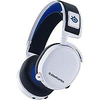 SteelSeries Arctis 7P ワイヤレス サラウンド ゲーミングヘッドセット ロスレス 低遅延 PS5/P…