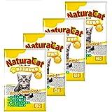 [Amazon限定ブランド] ナチュラキャット 固まる紙製猫砂 ホワイト 猫砂 [ケース販売]