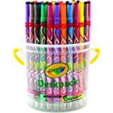 CRAYOLA 52 7432 Twistables Crayons, 32 Deskpack, Twist for Fun, Back to School, Primary School, Art and Craft, Classroom, Edu