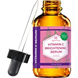 Vitamin C Brightening Serum by Leven Rose 100% Natural Dark Spot Remover for Face for Collagen Boost, Anti-Aging, Deep Hydrat