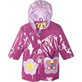 Kidorable Girls' Little Butterfly All Weather Waterproof Raincoat