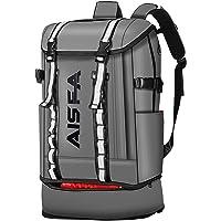 AISFAリュックメンズ リュックサックバックパック スクエア 30L 防水15.6インチ PC ビジネス ラップトップ…
