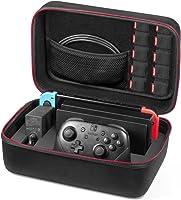 Nintendo Switch ケース- Younik高品質収納バッグ 大容量 ニンテンドー スイッチ専用バッグ 防塵 耐衝撃 全面保護型