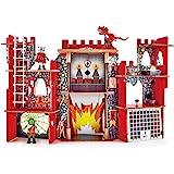 """Hape E3025 Viking Castle Playset (17 Piece),Colorful,""""L: 20.9, W: 9.8, H: 34.3 inch"""""""