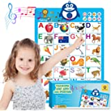 Mia Bambina Educational Toys for Toddlers - Electronic ABC Poster | Teaches Tactile Memory, Word Association & Counting | Son