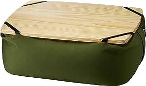 BRUNO ビーズ クッション テーブル PC スマホ ソファ カーキ BOA039-KH