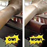 """Ergo Edge   Protect Your arms from Sharp Table Edges!   30"""" High Density Foam [Black]"""