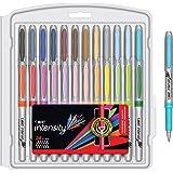 BIC Marking Permanent Marker Fashion Colors, Fine Point, Assorted Colors, 24-Count, GXPMP24