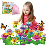 Girls Toys Flower Garden Building Toys for 3 4 5 6 Years Old Girls and Boys Toddlers Kids Gifts for 3+ Years Old Birthday Chr