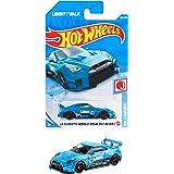 ホットウィール(Hot Wheels) ベーシックカー LBシルエット ワークス GT ニッサン 35GT-RR VER.2 HBP03 ブルー