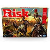 Hasbro Gaming E9402 Risk Game With Dragon; For Use With Amazon Alexa; Strategy Board Game Ages 10 and Up; With Special Dragon