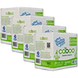 Caboo Tree Free Bamboo Paper Napkins, Eco Friendly Disposable Dinner Napkins - 4 Packs of 250, Total of 1000 Napkins