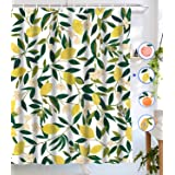 Tapejoy Fruit Shower Curtain, Summer Main Shower Curtain, Tempting Delicious Shower Curtain Sets Lemon