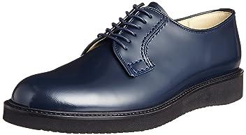 Haruta Postman Shoes 711P: Navy