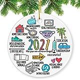 Kexle Christmas Ornaments 2020, Christmas Ornaments 2020 Christmas Ornament Quarantine Christmas Ornaments Clearance Funny Ho