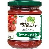 Global Organics Organic Tomato Paste 200 g, red