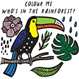 Who's in the Rainforest? (Colour Me Wee Gallery bath book): Watch Me Change Colour In Water