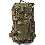 OUTERDO Outdoor Military Tactical Rucksacks Backpack Camping Hiking Trekking Sport Bag