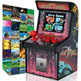 GBD Kids Mini Retro Arcade Game Cabinet Machine 200 Classic Handheld Video Games 2.5'' Display Joystick Travel Portable Game