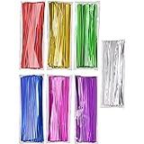 "Mini Skater 700pcs 4"" Metallic Twist Ties - Colored (7 Colors)"